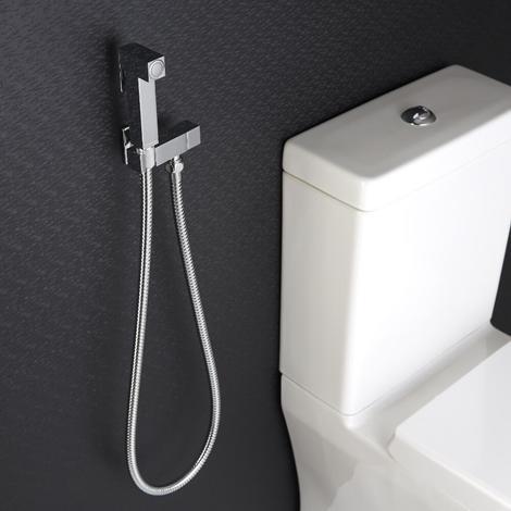 manuelle Hygienedusche für Bidets Modern-Eckig