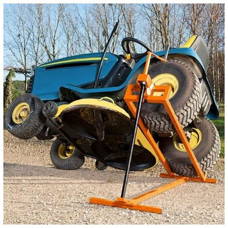 MANUPRO Cric Leve Tracteur Tondeuse 400 kg