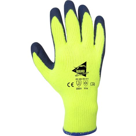 Manusweet Captain Freeze Gants de travail Antifroid