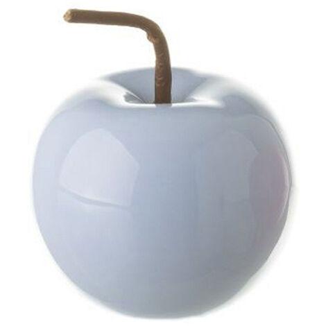 Manzana decorativa de cerámica - Hogar y más Azul