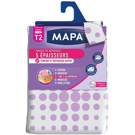 """main image of """"MAPA Housse Table à Repasser 5 Epaisseurs T2 - 135x50 cm"""""""