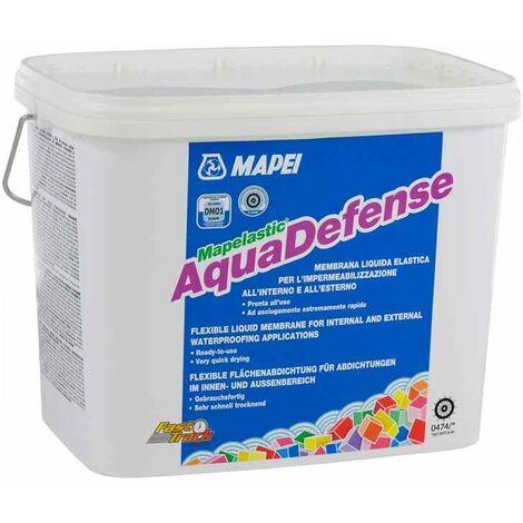Mapelastic Aquadefense Mapei membrana liquida impermeabilizzante