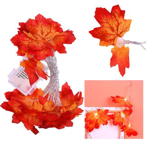 Maple Leaves Garland Led Holiday String Light Valentine Birthday Wedding Party Decoration Economic Light Fairy Lamp String