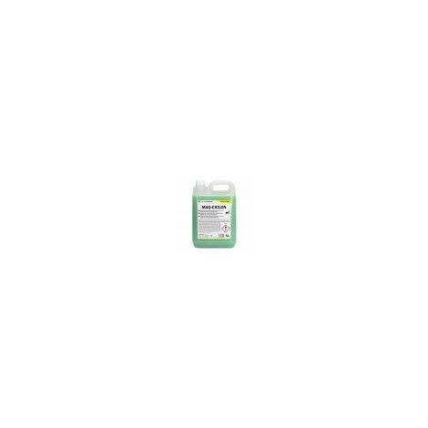 MAQ - CICLÓN: Detergente fregasuelos desengrasante para máquinas fregadoras automáticas. Espuma controlada. Botella 5 Lt