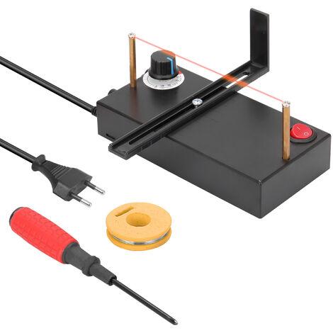 Maquina cortadora de cinta caliente para uso en el hogar, artesania de banda de cuerda DIY, herramienta de corte manual DIY