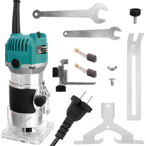Maquina cortadora electrica multifuncional para carpinteria, fresadora electromecanica de madera