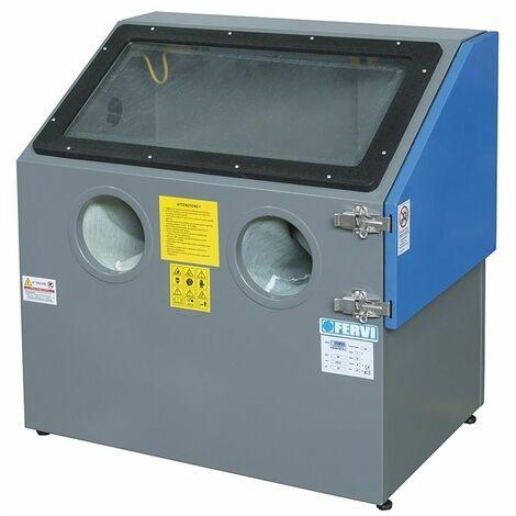 Máquina de chorro de arena de banco FERVI 0487