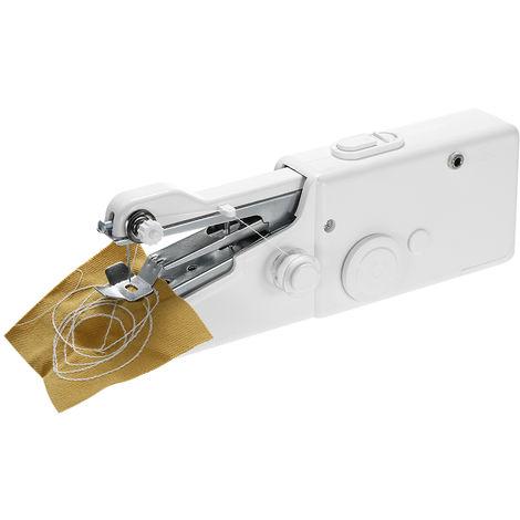 Maquina de coser electrica de mano, con pilas, herramienta de puntada