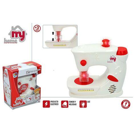 Maquina de Coser Eléctrica para niños con Sonidos y Luz, Juguete Infantil. Original/Moderno 175 X 95 X 205 mm.-Hogarymas-