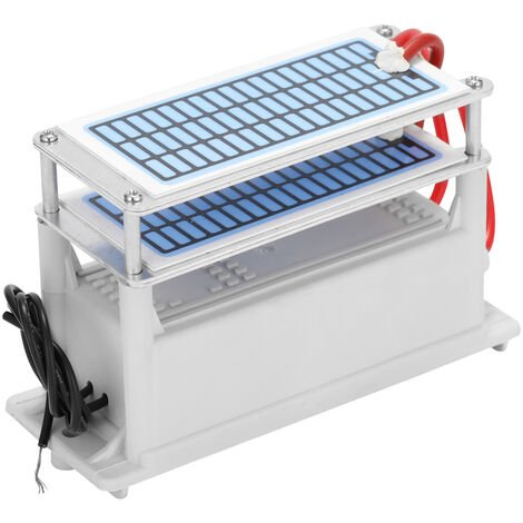 Maquina de ozono generador de ceramica portatil 28g / h