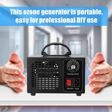 Maquina de ozono generador, filtro de aire purificador, con el tipo de temporizador, 32 g / h