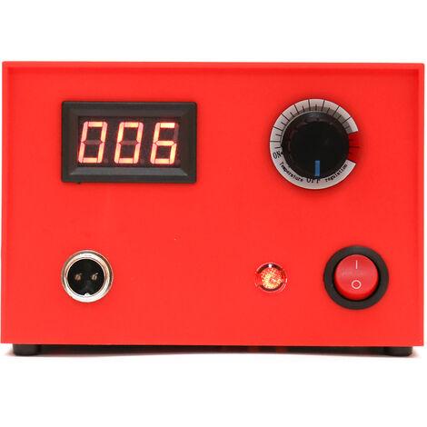 Maquina de pirograbado de madera de calabaza electrica digital multifuncional, con 23 piezas de cabezales de boligrafo calefactor