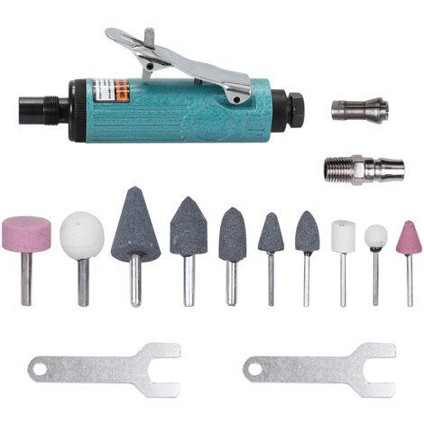 Maquina de pulido de metal pulidora Air Die Grinder Mill Kit, 15 piezas