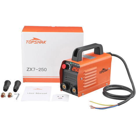 Máquina de soldadura eléctrica portátil ZX7-250 250A 220V Mini MMA ARC IGBT con electrodo aislado