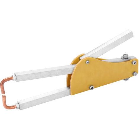 Maquina de soldadura por puntos de presion ajustable especial en forma de Junta Epoxi Butt-Soldadura Soldadura Pinzas Pluma: Para 1 + 1 mm de acero de la placa