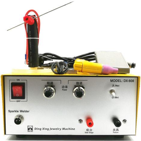Máquina de soldadura por puntos de pulso portátil 80A 220V 50 60HZ Hasaki