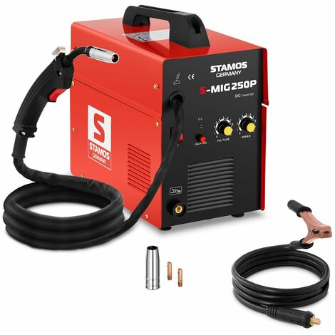 Maquina De Soldar 50-250 A Mig Mag Soldadura Con Electrodo
