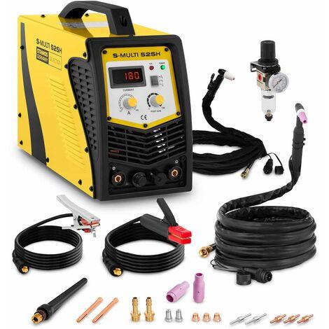 Maquina De Soldar Multiproceso Soldador Tig Electrodo Corte Por Plasma 180A-50A