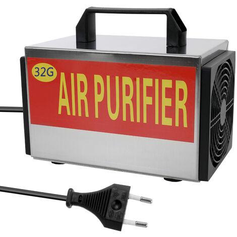 Maquina generadora de ozono portatil, purificador de filtro de aire, con interruptor de sincronizacion