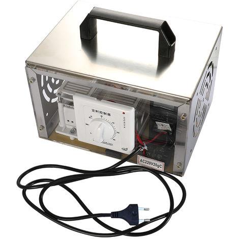 Maquina generadora de ozono, ventilador purificador de filtro de aire, 20g / h, 220 V