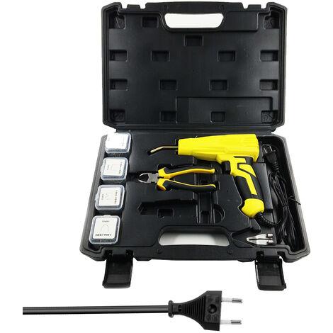 Maquina grapadora portatil para soldar plasticos de 100W, herramientas para soldar plasticos