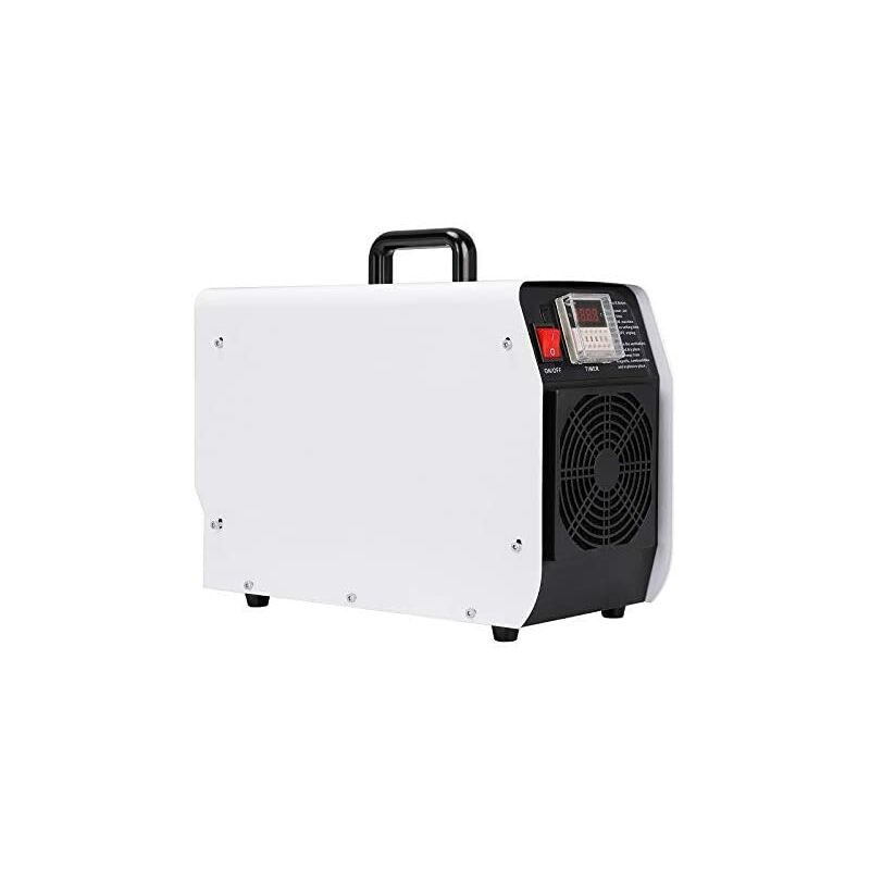 Máquina Ozono Desinfectante Profesional 20.000 MG/H Portátil Plasma Compresor