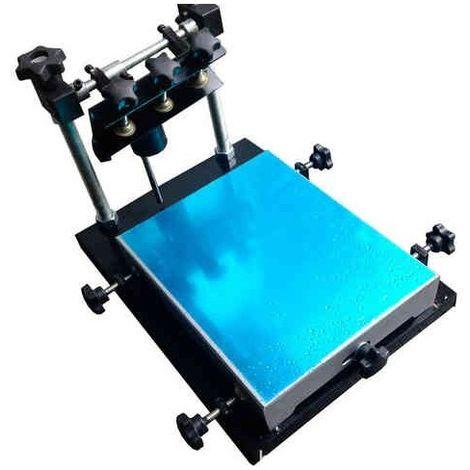 Máquina serigrafía plana manual 240*300mm