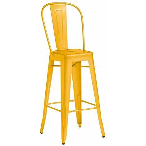 Marabel Bar Stool - Yellow
