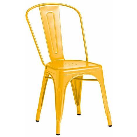Marabel Side Chair - Yellow