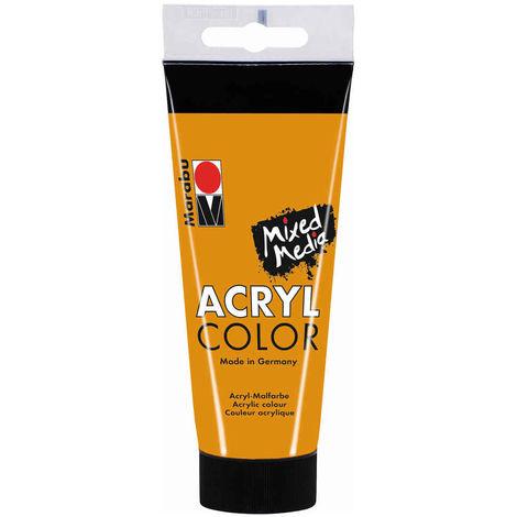 Marabu - Tube AcryColor Couleur Ocre - 100ml