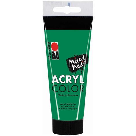 Marabu - Tube AcryColor Couleur Vert Vegetal - 100ml