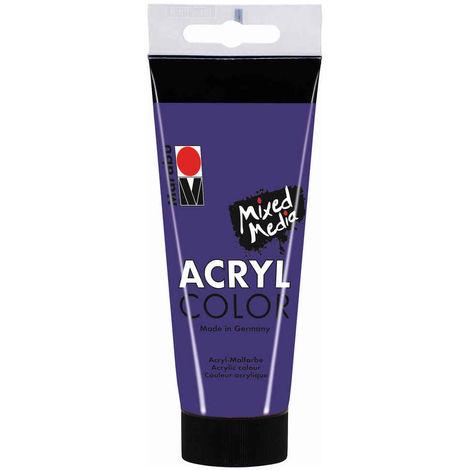 Marabu - Tube AcryColor Couleur Violet - 100ml
