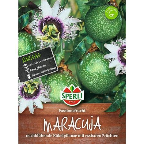 Maracuja Passionsfrucht Passiflora edulis