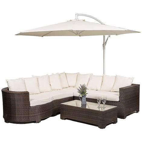 Marbella Rattan Garden Furniture [Sofa Set]