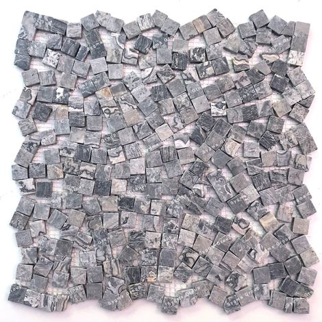 Marble mosaic floor or wall tiles SULTAN GRIS