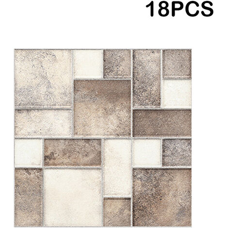 Marble Mosaic Self-adhesive Tile Stickers