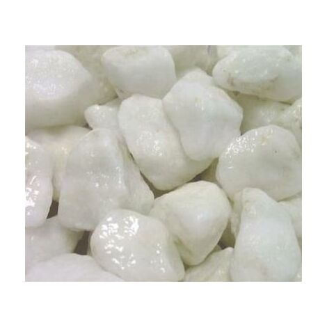 Marbre blanc pur concassé 12/20 25 Kg