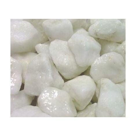 Marbre blanc pur concassé 12/20 400 Kg - 16x25kgs