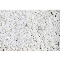 Marbre blanc pur concassé 8/12 150 Kg