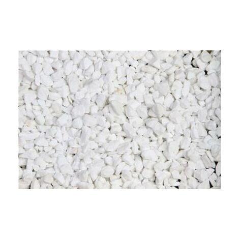Marbre blanc pur concassé 8/12 25 Kg