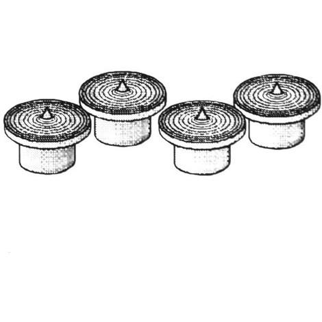 Marcadores 4 Broca - BRICO - 4426 - 6