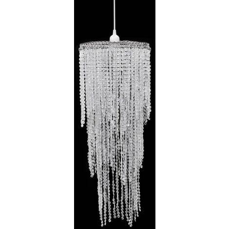 Marcellus 1-Light Crystal Chandelier by Mercer41 - Transparent