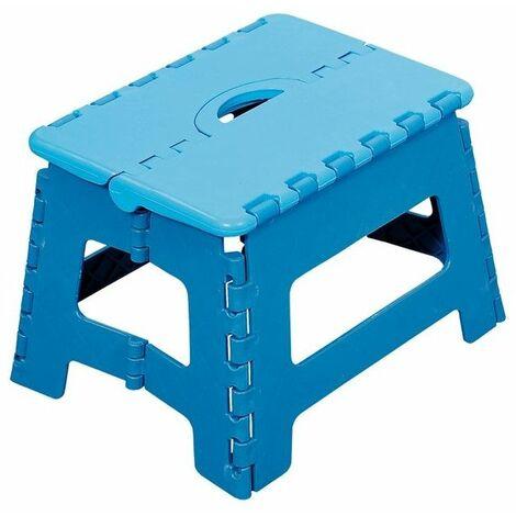 Marche-pied pliable - Bleu