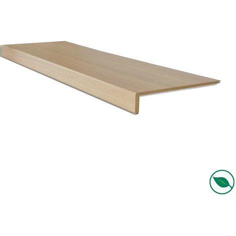 Marche rénovation d'escalier stratifié chêne clair 1300 x 380 x 5,6 mm
