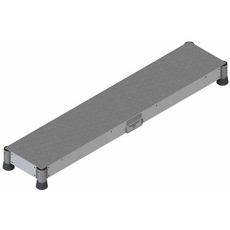 Marchepied aluminium - 1 marche
