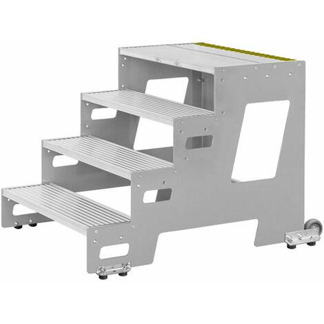 Marchepied roulant - largeur des marches 600mm  (plusieurs tailles disponibles)