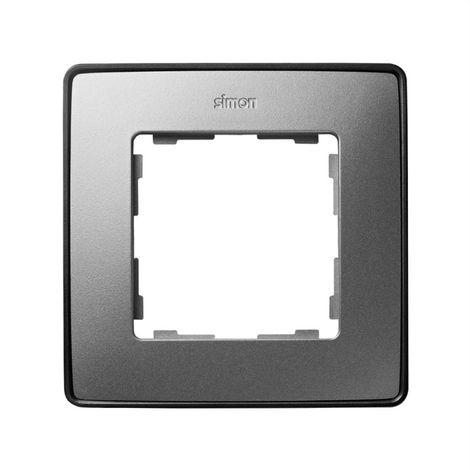 Marco 1 elemento aluminio frio base grafito SIMON 82 DETAIL 8201610-293