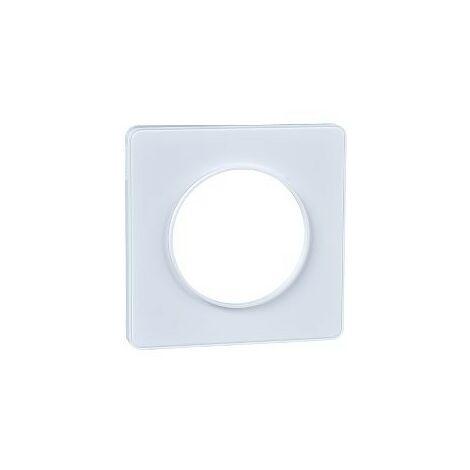 Marco 1 elemento blanco Odace Touch SCHNEIDER S520802