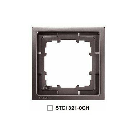 Marco 1 elemento chocolate Siemens Delta Style, 5TG1321-0CH