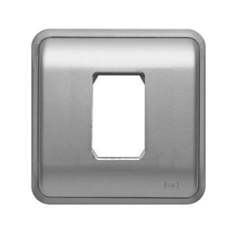 Marco 1 elemento estrecho PLATA BJC Rehabitat 16661-PL (Estrella)